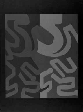 Chryssa (American, born Greece, 1933). The Gates to Times Square, 1980. Screenprints, 40 x 30 1/2 in.  (101.6 x 77.5 cm). Brooklyn Museum, Gift of Robert de Guardiola, 80.289.1a-t. © Chryssa