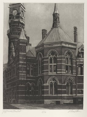 Brooklyn Museum: Jefferson Market