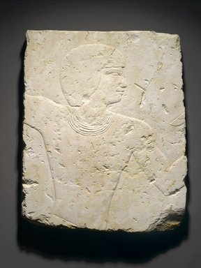 Relief of a Fowler, ca. 1539-1425 B.C.E. Limestone, 20 1/2 x 16 9/16 x 1 in., 12.5 lb. (52 x 42 x 2.5 cm, 5.66kg). Brooklyn Museum, Gift of Christos G. Bastis in honor of Bernard V. Bothmer, 80.38. Creative Commons-BY