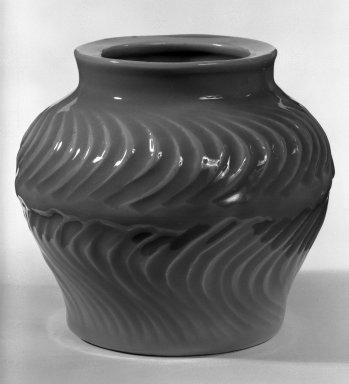 Ueda Tsuneji (Japanese, born 1914). Vase, 20th century. Celadon, 5 3/4 x 6 1/4 in. (14.6 x 15.9 cm). Brooklyn Museum, Gift of Sidney B. Cardozo, Jr., 80.69.1. Creative Commons-BY