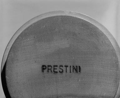 James Prestini (American, 1908-1993). Vase, ca. 1943-1953. Birch, copper, 8 5/8 x 3 5/8 x 3 5/8 in. (21.9 x 9.2 x 9.2 cm). Brooklyn Museum, Gift of Professor James Prestini, 81.113.4. Creative Commons-BY