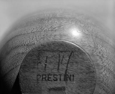 James Prestini (American, 1908-1993). Vase, ca. 1943-1953. Walnut, 5 7/8 x 5 1/8 x 5 1/8 in. (14.9 x 13 x 13 cm). Brooklyn Museum, Gift of Professor James Prestini, 81.113.5. Creative Commons-BY