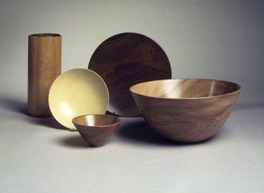 James Prestini (American, 1908-1993). Bowl, ca. 1943-1953. Birch, 4 7/8 x 10 3/8 x 10 3/8 in. (12.4 x 26.4 x 26.4 cm). Brooklyn Museum, Gift of Professor James Prestini, 81.113.7. Creative Commons-BY