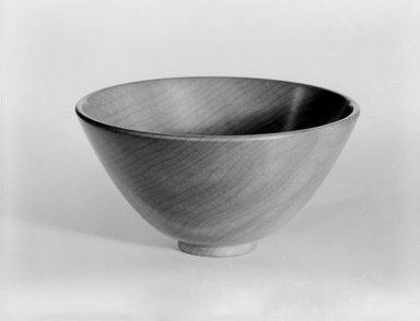 James Prestini (American, 1908-1993). Bowl, ca. 1943-1953. Wavy maple, 2 x 3 5/8 x 3 5/8 in. (5.1 x 9.2 x 9.2 cm). Brooklyn Museum, Gift of Professor James Prestini, 81.113.9. Creative Commons-BY