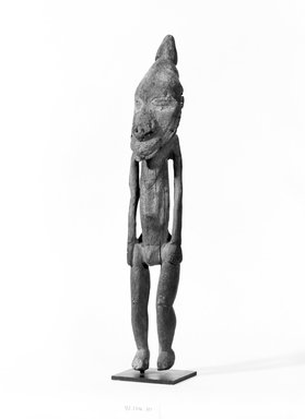 Iatmul. Male Ancestor Figure. Wood, 20 in. (50.8 cm). Brooklyn Museum, Gift of Mrs. Melville W. Hall, 81.164.10. Creative Commons-BY