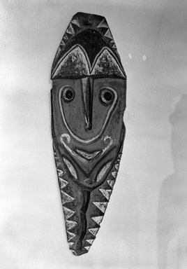 Warasei. Mindja Carving, early 20th century. Wood, pigment, 53 x 17 1/4 x 2 1/2 in. (134.6 x 43.8 x 6.4 cm). Brooklyn Museum, Gift of Mrs. Melville W. Hall, 81.164.7. Creative Commons-BY