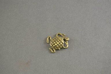 Akan. Gold Weight in the Form of a Tortoise, 19th-20th century. Copper alloy, length: 1 5/8 in. (4.1 cm). Brooklyn Museum, Gift of Mr. and Mrs. Arnold Syrop, 81.168.5. Creative Commons-BY