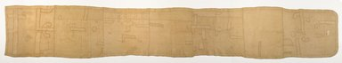 Kuba. Woman's Skirt (nshak or ncak), before 1914. Raffia, applique, Overall: 25 1/2 x 158 1/2 in. (64.8 x 402.6 cm). Brooklyn Museum, Purchased with funds given by Mr. and Mrs. Milton F. Rosenthal, 81.169. Creative Commons-BY