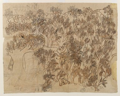 Brooklyn Museum: Ram Singh II Hunting Tigers