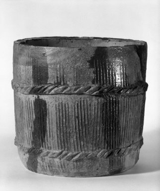 Brooklyn Museum: Kitaoji Rosanjin, Mizushashi (Tea Ceremony Fresh-Water Jar)