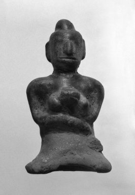 Maternity Figure, 14th-15th Century., 3 3/8 x 1 3/4 in. (8.6 x 4.4 cm). Brooklyn Museum, Gift of Dr. Jerome Krieger, 81.289.15. Creative Commons-BY