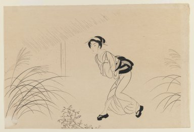 Komura Seitai, early 20th century. Woodblock print, 10 3/8 x 15 3/8 in. (26.4 x 39.1 cm). Brooklyn Museum, Gift of Mr. and Mrs. Peter P. Pessutti, 81.297.7