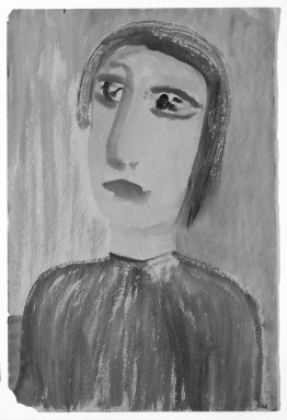 Brooklyn Museum: [Untitled] (Bust-length Portrait of a Woman)