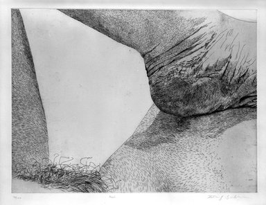 Kay Bradner (American, born 1947). Heel, 1978. Etching on paper, Sheet: 22 1/4 x 29 13/16 in. (56.5 x 75.7 cm). Brooklyn Museum, Gift of the artist, 81.68.2. © Kay Bradner