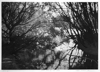 Stephen McMillan (American, born 1949). Serenity, 1979. Aquatint on paper, sheet: 22 x 29 5/8 in. (55.9 x 75.2 cm). Brooklyn Museum, Gift of Katherine Lincoln Press, 81.74.1. © Stephen McMillan