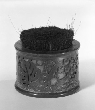 Tiffany Studios (1902-1932). Pen-tip Cleaner. Bronze, glass, and hair bristle Brooklyn Museum, Gift of Fred Tannery, 82.112.9. Creative Commons-BY