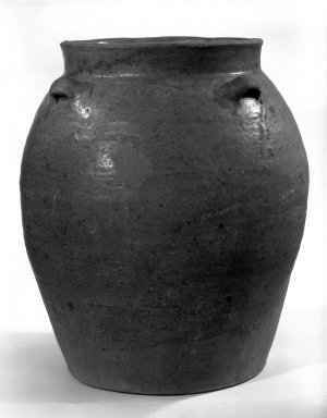 Storage Jar, 8th-10th century. Stoneware, 13 1/2 x 11 1/2 in. (34.3 x 29.2 cm). Brooklyn Museum, Gift of Dr. Andrew Dahl, 82.118.2. Creative Commons-BY