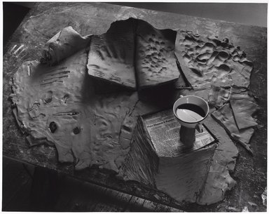 Zeke Berman (American, born 1951). Current Events Series, Major Massacre, 1982. Gelatin silver photograph, image: 15 1/4 x 19 1/4 in. (38.7 x 48.9 cm). Brooklyn Museum, Gift of the artist, 82.136.4. © Zeke Berman