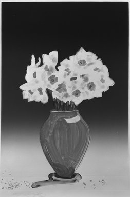 Gary Alan Bukovnik (American, born 1947). Paper Whites, 1982. Monotype on paper, Image: 36 3/8 x 24 3/4 in. (92.4 x 62.8 cm). Brooklyn Museum, Gift of Wendy Lang, 82.147.3. © Gary Alan Bukovnik