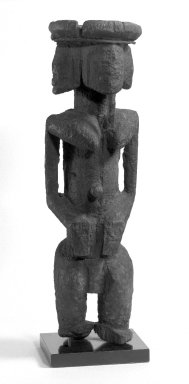 Brooklyn Museum: Figure with Four Faces (Ginin)