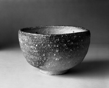 Otani Shiro (Japanese, born 1936). Tea Bowl, 1980. Stoneware, Shigaraki ware, 3 1/4 x 5 1/4 in. (8.3 x 13.3 cm). Brooklyn Museum, Gift of Robert S. Anderson, 82.171.7. Creative Commons-BY