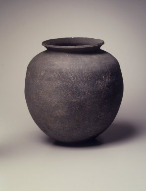 Jar, 5th century. Stoneware, Height: 10 3/16 in. (25.8 cm). Brooklyn Museum, Gift of Robert S. Anderson, 82.171.8. Creative Commons-BY