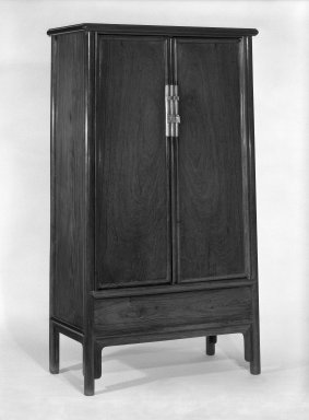 Hinged Cupboard, 1368-1644. Wood, 68 x 37 x 19 1/2 in. (172.7 x 94 x 49.5 cm). Brooklyn Museum, Gift of Alice Boney, 82.172. Creative Commons-BY