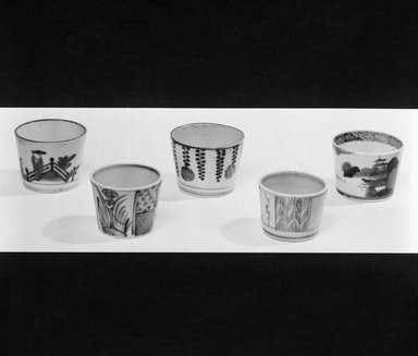 Sauce Cup, 18th-early 19th century. Porcelain, approx. 2 1/8 x 3 in. (5.4 x 7.6 cm). Brooklyn Museum, Gift of Dr. Henry J. Fischer, 82.175.4. Creative Commons-BY