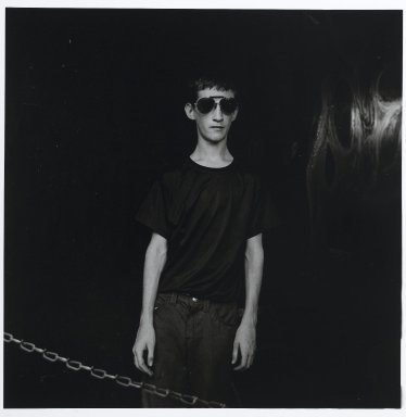 "Stephen Salmieri (American, born 1945). ""Coney Island,"" 1969. Gelatin silver photograph Brooklyn Museum, Gift of Edward Klein, 82.201.20. © Stephen Salmieri"