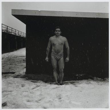 "Stephen Salmieri (American, born 1945). ""Coney Island,"" 1969. Gelatin silver photograph Brooklyn Museum, Gift of Edward Klein, 82.201.23. © Stephen Salmieri"