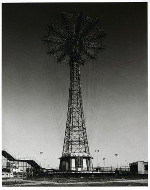 Stephen Salmieri (American, born 1945). Coney Island (Parachute Jump), 1969. Gelatin silver photograph, Sheet: 14 x 11 in. (35.6 x 27.9 cm). Brooklyn Museum, Gift of Edward Klein, 82.201.24. © Stephen Salmieri