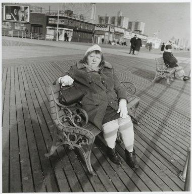 "Stephen Salmieri (American, born 1945). ""Coney Island,"" 1969. Gelatin silver photograph, image: 10 1/8 x 10 in. (25.7 x 25.4 cm). Brooklyn Museum, Gift of Edward Klein, 82.201.2. © Stephen Salmieri"