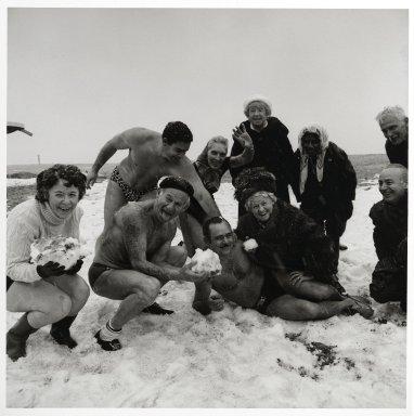 Stephen Salmieri (American, born 1945). Coney Island, 1973. Gelatin silver photograph, Image: 9 x 9 in. (22.9 x 22.9 cm). Brooklyn Museum, Gift of Edward Klein, 82.201.35. © Stephen Salmieri