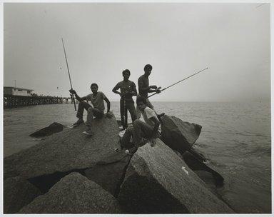 Stephen Salmieri (American, born 1945). Coney Island, 1971. Gelatin silver photograph, image: 8 x 10 1/8 in. (20.3 x 25.7 cm). Brooklyn Museum, Gift of Edward Klein, 82.201.48. © Stephen Salmieri
