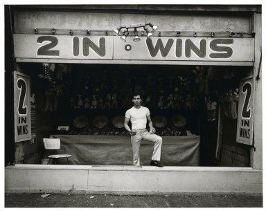 Stephen Salmieri (American, born 1945). Coney Island, 1969. Gelatin silver photograph, Sheet: 11 x 14 in. (27.9 x 35.6 cm). Brooklyn Museum, Gift of Edward Klein, 82.201.4. © Stephen Salmieri
