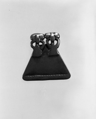 Senufo. Divination Instrument, late 19th or early 20th century. Copper alloy, h: 1 1/2 in. (3.8 cm). Brooklyn Museum, Gift of Mr. and Mrs. Arnold Syrop, 82.215.4. Creative Commons-BY