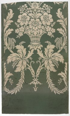 J. Z. Zuber & Cie.. Wallpaper, pattern No.5082, ca. 1890-1900. Paper, 19 5/8 x 32 1/2 in. (49.8 x 82.6 cm). Brooklyn Museum, Gift of Arlene M. and Thomas C. Ellis, 82.239.6