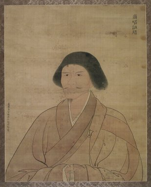 Gao Yongxian. Portrait of Gaofeng Yuanmiao, 1590. Ink and color on silk, With mount: 42 5/8 x 29 3/8 in. (108.3 x 74.6 cm). Brooklyn Museum, Designated Purchase Fund, 82.27