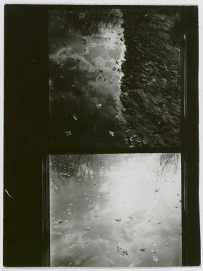 Consuelo Kanaga (American, 1894-1978). [Untitled] (Putnam Pond). Gelatin silver photograph, 4 1/4 x 3 1/4 in. (10.8 x 8.3 cm). Brooklyn Museum, Gift of Wallace B. Putnam from the Estate of Consuelo Kanaga, 82.65.102