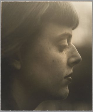 Consuelo Kanaga (American, 1894-1978). [Untitled] (March Avery). Gelatin silver photograph, 10 7/8 x 9 1/8 in. (27.6 x 23.2 cm). Brooklyn Museum, Gift of Wallace B. Putnam from the Estate of Consuelo Kanaga, 82.65.130