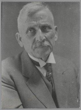 Consuelo Kanaga (American, 1894-1978). Amos Ream Kanaga Sr.. Gelatin silver photograph, 3 7/8 x 3 in. (9.8 x 7.6 cm). Brooklyn Museum, Gift of Wallace B. Putnam from the Estate of Consuelo Kanaga, 82.65.156
