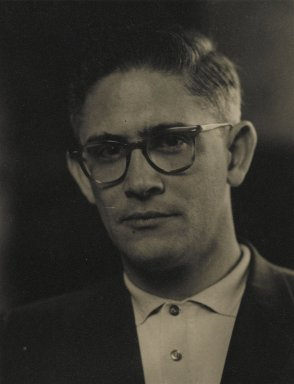 Consuelo Kanaga (American, 1894-1978). [Untitled] (Ivan Tentahoff). Gelatin silver photograph, 4 7/8 x 3 3/4 in. (12.4 x 9.5 cm). Brooklyn Museum, Gift of Wallace B. Putnam from the Estate of Consuelo Kanaga, 82.65.15