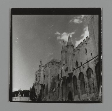 Consuelo Kanaga (American, 1894-1978). [Untitled] (Architecture in France). Gelatin silver photograph, 2 1/2 x 2 1/2 in. (6.4 x 6.4 cm). Brooklyn Museum, Gift of Wallace B. Putnam from the Estate of Consuelo Kanaga, 82.65.180