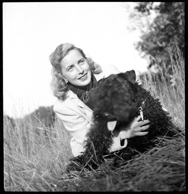 Consuelo Kanaga (American, 1894-1978). Margaret Wise Brown. Cellulose acetate negative, 2 1/2 x 2 3/8 in. (6.4 x 6 cm). Brooklyn Museum, Gift of Wallace B. Putnam from the Estate of Consuelo Kanaga, 82.65.1836