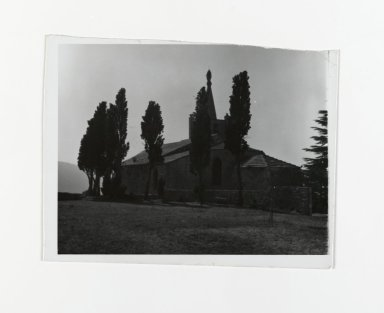 Consuelo Kanaga (American, 1894-1978). [Untitled], 1967. Gelatin silver photograph, 4 1/2 x 5 3/8 in. (11.4 x 13.7 cm). Brooklyn Museum, Gift of Wallace B. Putnam from the Estate of Consuelo Kanaga, 82.65.197