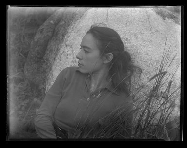 Consuelo Kanaga (American, 1894-1978). [Untitled]. Negative, 8 1/4 x 6 1/4 in. (21 x 15.9 cm). Brooklyn Museum, Gift of Wallace B. Putnam from the Estate of Consuelo Kanaga, 82.65.1991