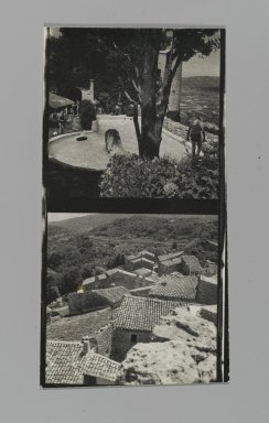 Consuelo Kanaga (American, 1894-1978). [Untitled] (Landscapes). Gelatin silver photograph, Contact sheet: 4 5/8 x 2 3/8 in. (11.7 x 6 cm). Brooklyn Museum, Gift of Wallace B. Putnam from the Estate of Consuelo Kanaga, 82.65.206