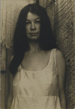 Consuelo Kanaga (American, 1894-1978). Portrait of a Woman. Gelatin silver photograph, 3 3/4 x 2 5/8 in. (9.5 x 6.7 cm). Brooklyn Museum, Gift of Wallace B. Putnam from the Estate of Consuelo Kanaga, 82.65.214