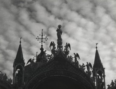Consuelo Kanaga (American, 1894-1978). [Untitled] (San Marco, Venice), 1927. Gelatin silver photograph, Image: 6 3/8 x 8 1/4 in. (16.2 x 21 cm). Brooklyn Museum, Gift of Wallace B. Putnam from the Estate of Consuelo Kanaga, 82.65.2237