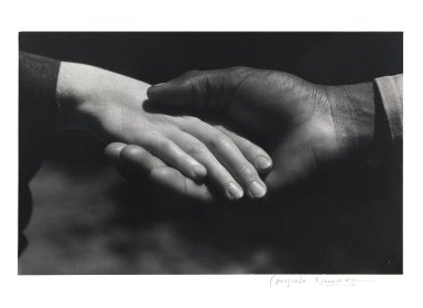Consuelo Kanaga (American, 1894-1978). Hands, 1930. Gelatin silver photograph, 7 1/2 x 12 in. (19.1 x 30.5 cm). Brooklyn Museum, Gift of Wallace B. Putnam from the Estate of Consuelo Kanaga, 82.65.2248